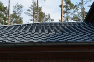 металлочерепица валенсия на крыше