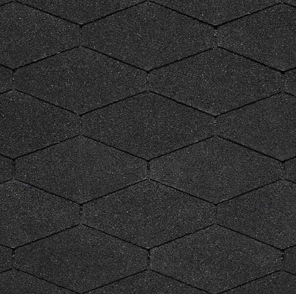 битумная черепица айко diamantshield black